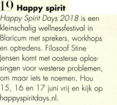 Happy Spirit Days in de Vogue